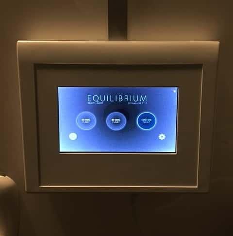 Zero Gravity Float Room Control Unit